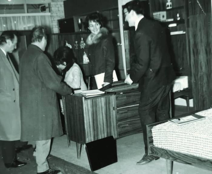 Annick and Dominique Soulard, Paris Furniture Fair